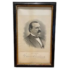 Grover Cleveland for Governor political print
