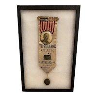 William McKinley Inauguration Ribbon March 4th, 1897