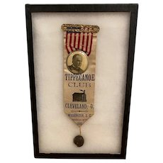 William McKinley Inauguration Ribbon March 4th, 1897