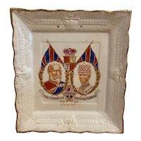 King Edward VII Coronation Plate  1902