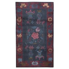 "1950s Chinese Rug - 2'11"" X 4'9"""