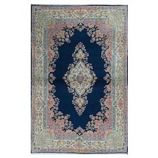 Vintage Persian Kerman rug, circa 1940 4' x 6'2