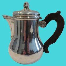 20th c french sterling silver coffee pot pine cone Tetard Frères 526g 18,55oz