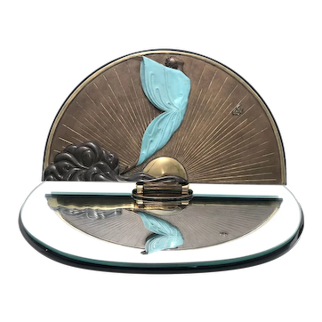 Erté - Tabletop Vanity Mirror - Transcendence - Table Art