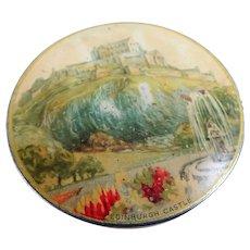 CHARMING Vintage 1930s Sample Tin,McVitie & Price Biscuit Tin, Edinburgh Castle,Scottish Tins, English Tins, Collectible Vintage Tins