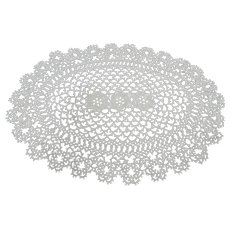 Lovely TATTED Lace Vintage Doily,Tatted Doilies,Tatting Doily,French Country Lace Doily,Decorative Doilies,Farmhouse Decor,Vintage Tatting