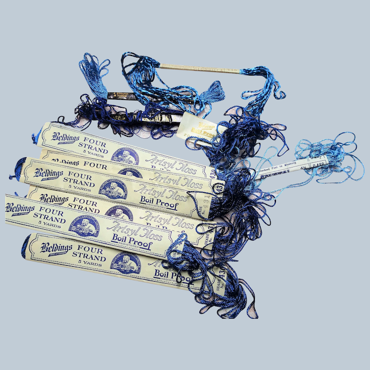 Embroidery Thread Vintage Embroidery Floss