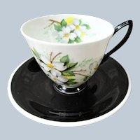 FABULOUS Art Deco Royal Albert English Bone China Teacup and Saucer,Lovely Deco Design,Collectible Vintage Teacups