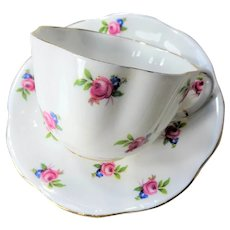 BEAUTIFUL Vintage CHINTZ Teacup and Saucer Foley English Bone China for Bridal Luncheons,Showers,Hostess Gift, Bridesmaid Gift, Collectible Cups and Saucers