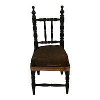 19th Century Salesman's Sample Pilgrim Century Side Chair