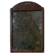 Late 17th/Early 18th Century Primitive Looking Glass