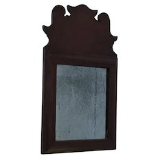 18th Century Queen Anne Diminutive Mirror