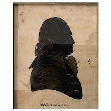 19th Century Silhouette of Washington