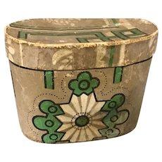 19th Century Diminutive Wallpaper Box
