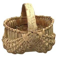 19th Century Miniature Melon Basket
