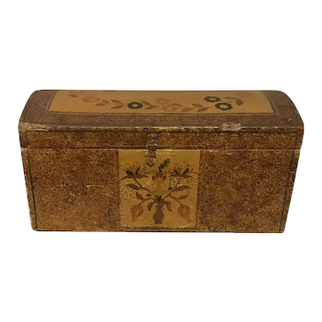 19th Century Dome Top Box