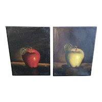 Late 19th-Early 20th Century  Still Life Pair