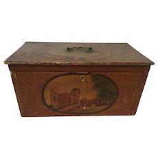 19th c American Painter's Box