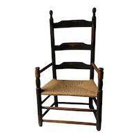 Early New England Country Pilgrim Youth Chair