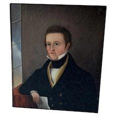 Early Portrait of Gentleman (1840-1860)