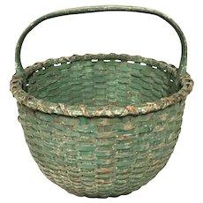 Green Gathering Basket