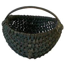 19th Century Buttocks Basket