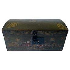 19th Century Dome Top Box