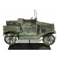 Early 20th c Model T Pickup Truck Weathervane