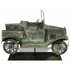 Early 20th c Model T Pickup Truck Weathervane