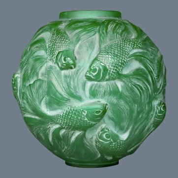 Green Formosa vase