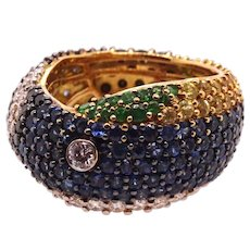 Blue Tang Ring