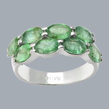 Serendipity Emerald Ring