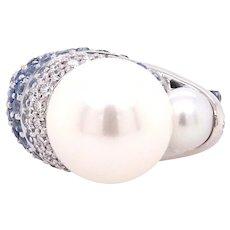 Blue Duchess Ring