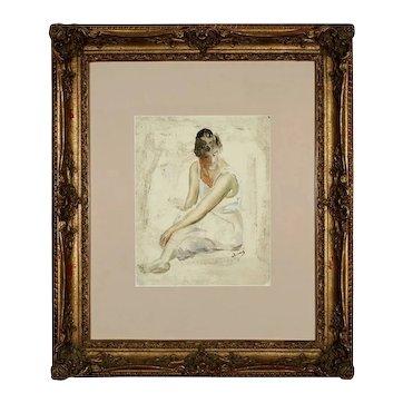 DERAIN (French 1880-1954) Figure