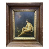 "N. Henry Bingham(1939 -) A 20th Century ""Female Nude"" oil on board."