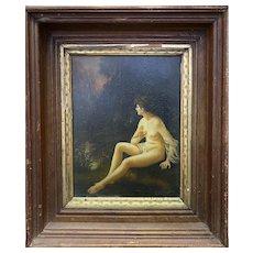 "N. Henry Bingham(1939 -) A 20th Century ""Female Nude"" oil on board."