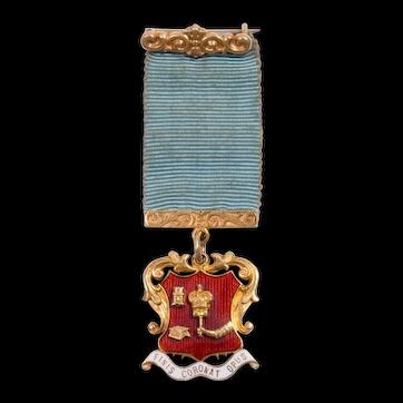 18ct Gold Hammerman Medal
