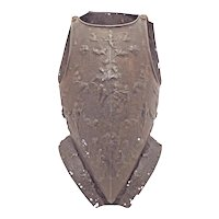 An Extremely Rare and Inportant Embossed French Cuirass C. 1560- 70