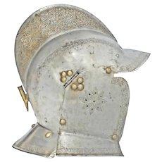 A Fine German Burgonet C. 1580 Hans Becher