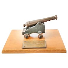 Antique/Vintage Cannon Model