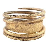 Fine Viking Warriors Ring 9th- 10th Century AD Size 9