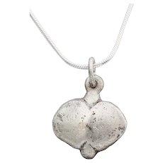 Viking Heart Pendant Necklace C.900-1050 AD