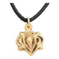 Viking Heart Pendant C.1000 AD
