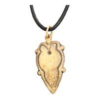 Good Viking Heart Pendant 900- 1050 AD.