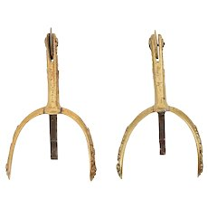 English Dress Spurs, Victorian Period