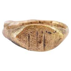 Fine Roman Ring C.2nd-Mid 4th Century AD Size 3 ¼