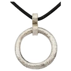 Ancient Celtic Prosperity Ring Necklace C.400-100 BC Jewelry