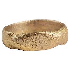 Rare Variation Viking Warrior's Wedding Ring, 10th-11th Century AD Size 9 ¾