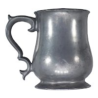 Victorian Pewter Pint Mug