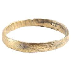 Ancient Viking Woman's Wedding Ring SZ 1